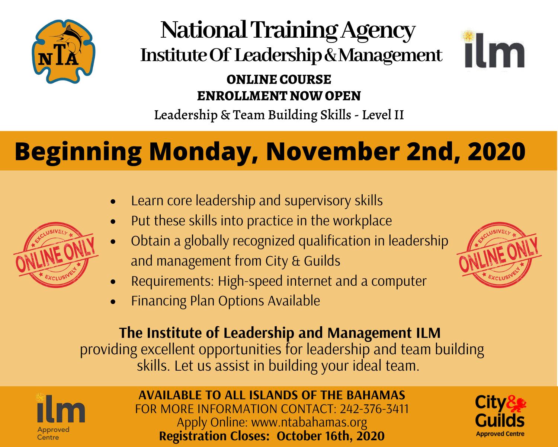 Online Course – Leadership & Team Building Skills (Level 2)